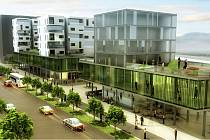 Využití náměstí Svobody může mít mnoho variant. Zde je například jeden z návrhů studentů architektury.