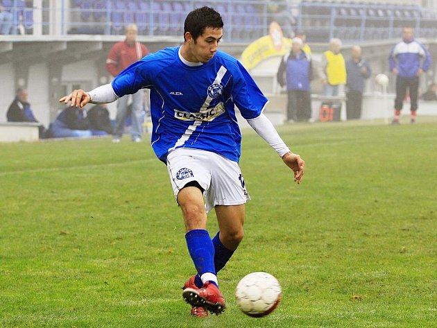 Jakub Roubal // SK Kladno - FC Písek  2:1 (0:0) , utkání 12.k. ČFL. ligy 2011/12, hráno 29.10.2011