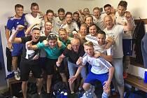 SK Slaný slaví, po třetím místu v krajském přeboru zřejmě postupuje do divize.