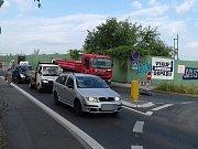 Auto srazilo Kladně cyklistu v ulici Na Kopci. Od pondělí je navíc tato ulice uzavřena.
