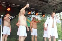 Z oslav sedmistého výročí od vzniku Olšan na Kladensku.