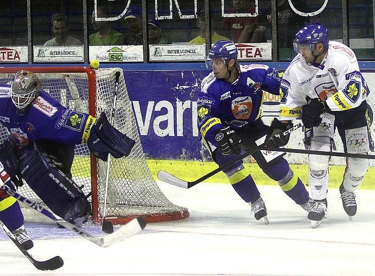 HC Kladno - HC Ústečtí lvi 6:6, přípravné hokejové utkání