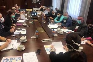Z jednání Zdravotnické záchranné služby Středočeského kraje s Veronikou Brožovou.
