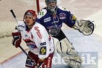 Michal Mikeska skóroval jako první.