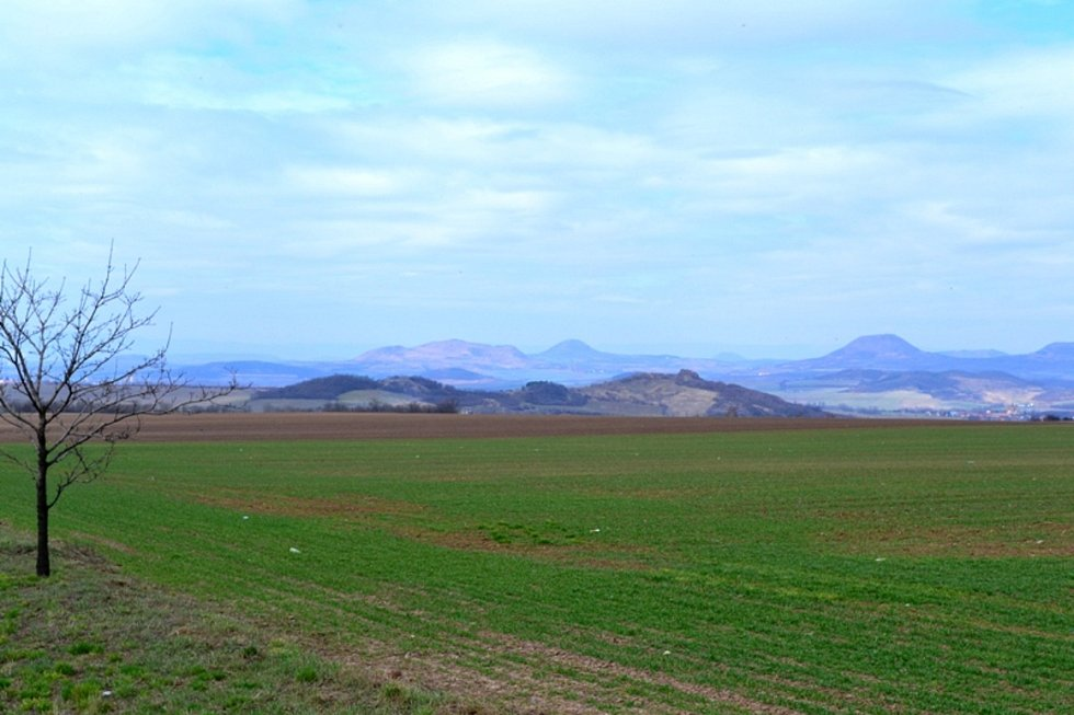 Výlet za hlaváčkem jarním na Tobiášův vrch.