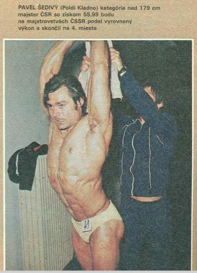 Pavel Šedivý na dobovém snímku
