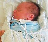 ROMAN RÁCZ, KLADNO. Narodil se 12. května 2017. Váha 3,033 kg, míra 48 cm. Rodiče jsou Natálie Ráczová a Jan Kudrik. (porodnice Kladno)