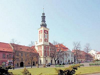 Město Slaný.