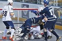 HBC ALPIQ Kladno vs. Elba DDM Ústí nad Labem 5:4 pp, EL Hokejbalu 2018-9,  Kladno 7. 4. 2019