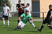 SK Hřebeč - FK Dobrovice 3:2 (0:1), KP 4. 9. 2021