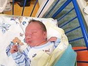 MATYÁŠ DRAGOUN, LIBOVICE. Narodil se 16. prosince 2017. Po porodu vážil 3,50 kg a měřil 49 cm. Rodiče jsou Tereza Janoušková a Michal Dragoun. (porodnice Slaný)