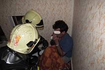 Hasiči poskytli přiotrávenému muži včas předlékařskou první pomoc