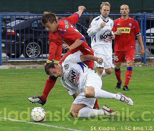 SK Kladno  - 1. FC Brno 1:0 (0:0), 7.k. Gambrinus ligy 2009/10, hráno 13.9.2009