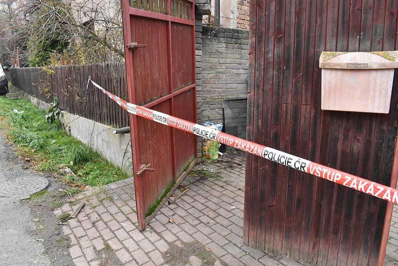 Dům v obci Líský, kde došlo k rodinné tragédii.