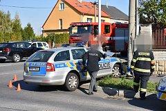 Policejní honička ve Slaném skončila málem tragédií.