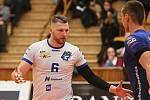 Kladno volejbal cz - Volejbal Brno 1:3, 1/4 finále extraligy volejbalu (stav 1:2), Kladno, 25.3.2019
