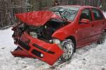 Středeční dopravní nehoda u Svinařova