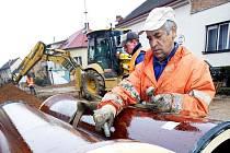 S pracemi na kanalizaci v Nouzově se začne od listopadu a měly by být hotovy nejpozději do konce roku příštího roku.