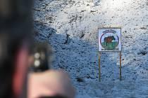 Libušínská střelnice: První výstřel 2009