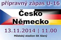 Pozvánka na přípravný duel ČR - Německo