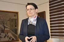 Návštěvníci kniihovny si procvičili paměť s doktorkou Miladou Zááborcovou.