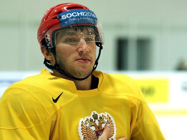 Alexandr Michajlovič Ovečkin natáčel ve Slaném.