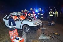 Další tragická nehoda na R7 se stala v pátek 15. listopadu 2013. Žena na místě zahynula.