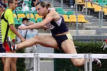 Rekordmanka Lucie Škrobáková (100m překážek)