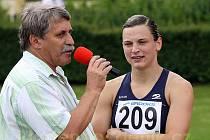Lucie Škrobáková, čerstvá česká rekormanka, navíc s nejlepším letošním výkonem v Evropě (110m překážek) v rozhovoru