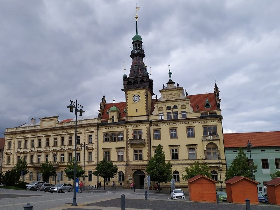 Radnice v Kladně.