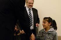 Vítězkou druhého ročníku motivační hry Žetonek pořádané kladenskou pobočkou společnosti Člověk v tísni se stala desetiletá Alžběta Bužíková.
