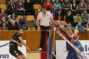 Kladno volejbal cz - Karlovarsko 0:3, EL volejbalu, Kladno, 25. 1. 2019