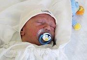 DAVID HERINK, KLADNO. Narodil se 4. dubna 2017. Váha 3,6 kg, míra 51 cm. Rodiče jsou Naďa Lenyshynets a František Herink (porodnice Kladno).