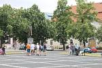 Protestní akce ve Slaném - Udej bližního svého