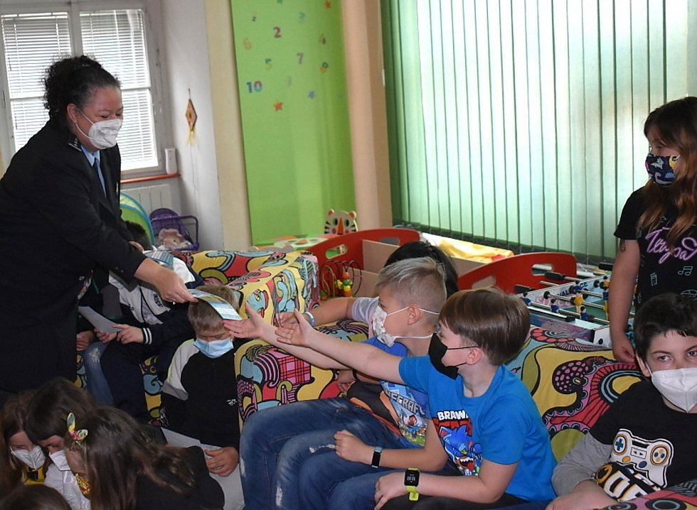 Zpěvák Marek Ztracený podporuje projekt, aby se děti neztrácely.