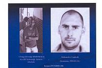 Pokud máte nějaké informace o tomto muži, volejte Policii ČR.