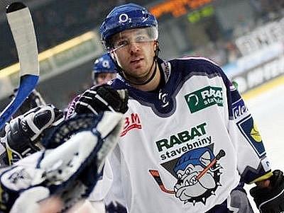 Kladenský hokejista Jaroslav Kalla.