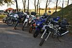 Motorkáři ukončili sezónu ve Stochově v Bikers baru Vodárna.