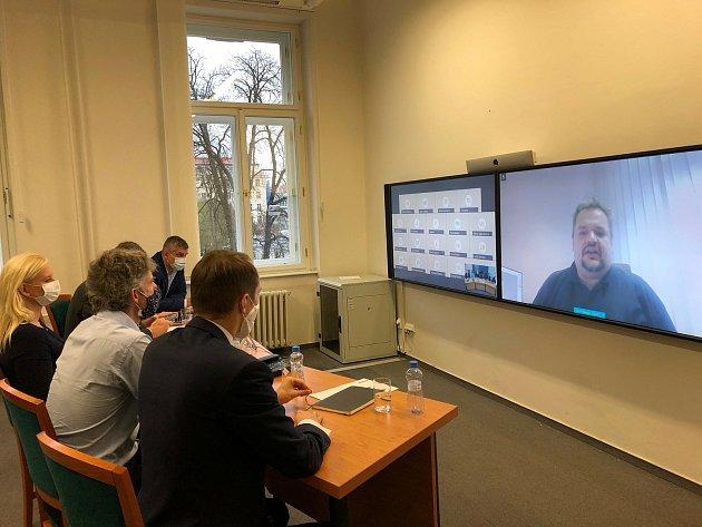 Videokonference na téma Digitální technická mapa.