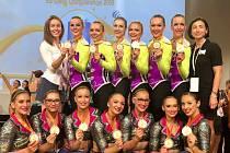 Aerobic Dancers Kladno - účastníci šampionátu
