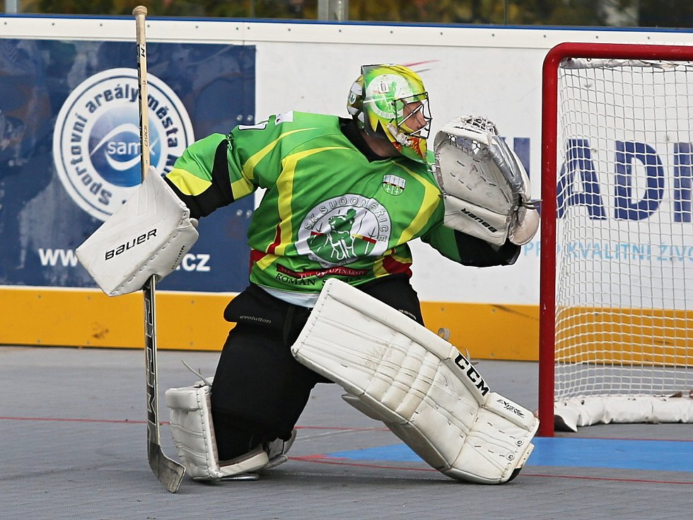 HBC ALPIQ Kladno — SK Sudoměřice 4:0, Extraliga hokejbalu , 4. 11. 2017