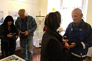 Slavnostní zahájení výstavy v Galerii Dobeška s názvem: Co již ve Slaném nenajdete