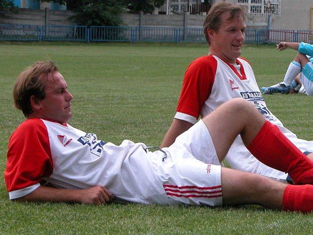 Jan Abrhám (vpravo) i Jan Váňa se chystají po delší době na derby svého Nova se sousedním Slovanem.
