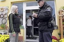 Okrskář Miloslav Šmíd v Kladně-Švermově