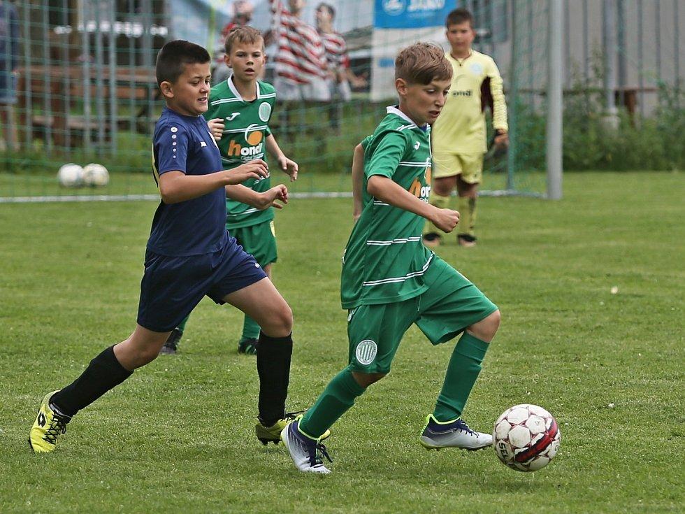 Finálový turnaj Okresní soutěže, kategorie U11 - Unhošť 8. 6. 2019