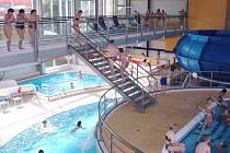 Kladenský aquapark.