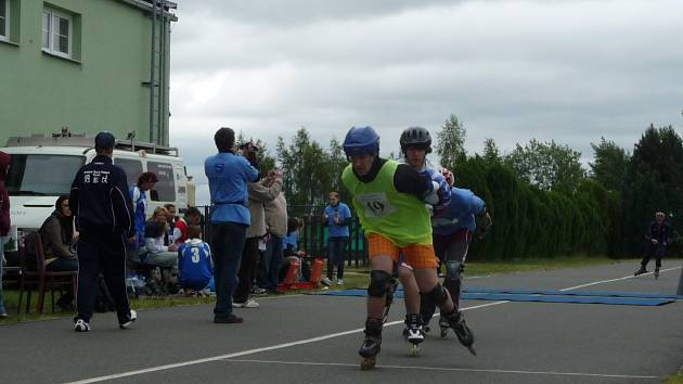 Na in-line dráze ve Stochově jezdí rekreační jezdci, ale také zde pořádají závody.