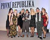 Sokolská masopustní zábava - šibřinky, které se v sobotu večer uskutečnila v kině Sokol v Kladně, měla letos téma První republika.
