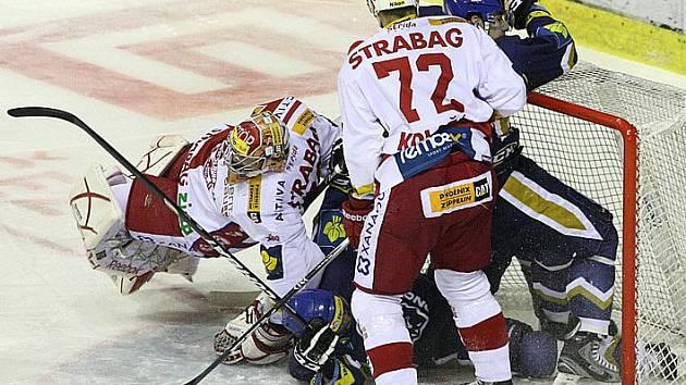 Rytíři Kladno - Slavia Praha, 21. kolo ELH 2011-12, hráno 16.11.11