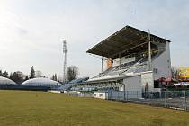 Fotbalový stadion Františka Kloze v Kladně.